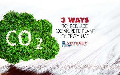 3 Ways to Reduce Concrete Plant Energy Usage