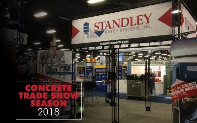 Concrete trade show season 2018