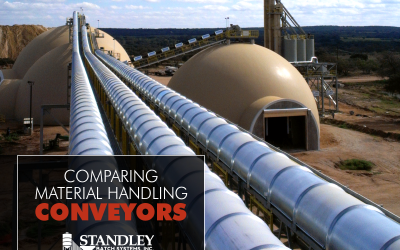 Comparing material handling conveyors