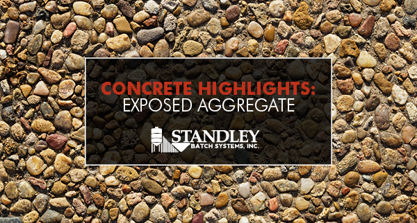 Concrete Highlights: Exposed Aggregate