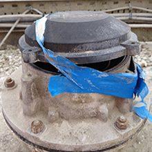 Damaged or faulty pressure sensor